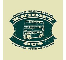 The Knight bus Photographic Print