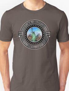 Distressed Geometric New York Cityscape  T-Shirt