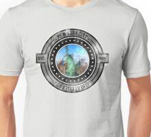Distressed Geometric New York Cityscape  Unisex T-Shirt