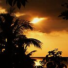 Yellow Sunset  Jamaica W.I. by jeanlphotos