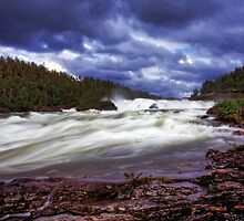 Storfosen falls,Sweden by leksele