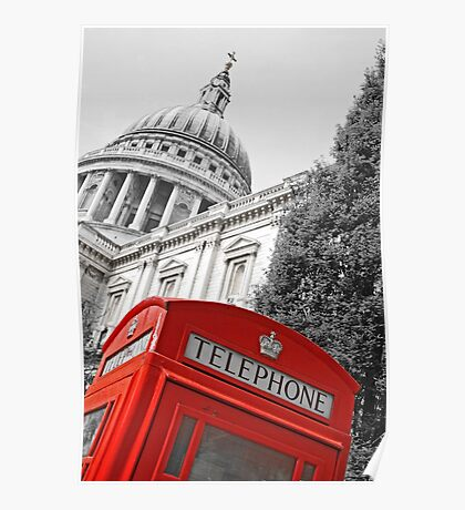 London phone box Poster