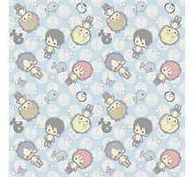 Free Iwatobi Swimming Chibi Photographic Print