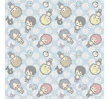 Free Iwatobi Swimming Chibi Photographic Print