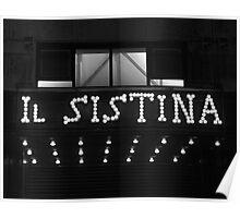 Il Sistina Poster