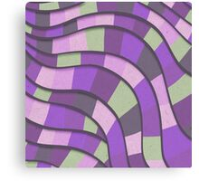 Rolling Wave Abstract 2 Canvas Print
