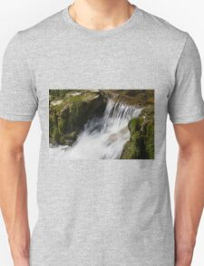 stream in the forest Unisex T-Shirt