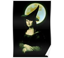 Mona Lisa...Witchy Woman Poster