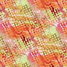 Abstract Melon Tones Grid by SpiceTree
