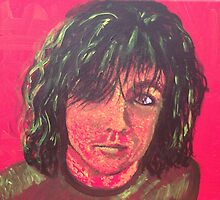 Syd Barrett - Red by MerrilynW