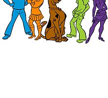 Scooby Gang by cursis
