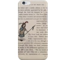 The Queen of Pirate Isle Bret Harte, Edmund Evans, Kate Greenaway 1886 0015 The Proud Lady iPhone Case/Skin