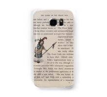 The Queen of Pirate Isle Bret Harte, Edmund Evans, Kate Greenaway 1886 0015 The Proud Lady Samsung Galaxy Case/Skin