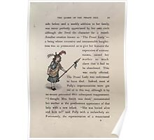 The Queen of Pirate Isle Bret Harte, Edmund Evans, Kate Greenaway 1886 0015 The Proud Lady Poster