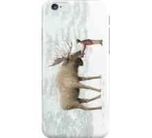 Boy and Moose iPhone Case/Skin