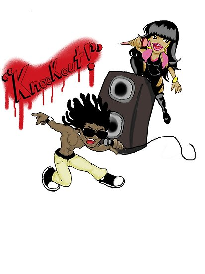 Lil' Wayne's Knockout with Nicki Minaj by DannyToon