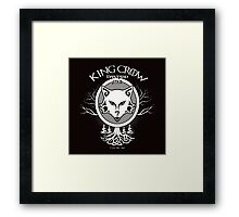 King Crow Bastard Ale Framed Print