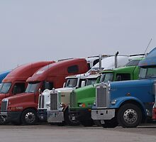 Truckers Got To Eat Too by Barb Miller