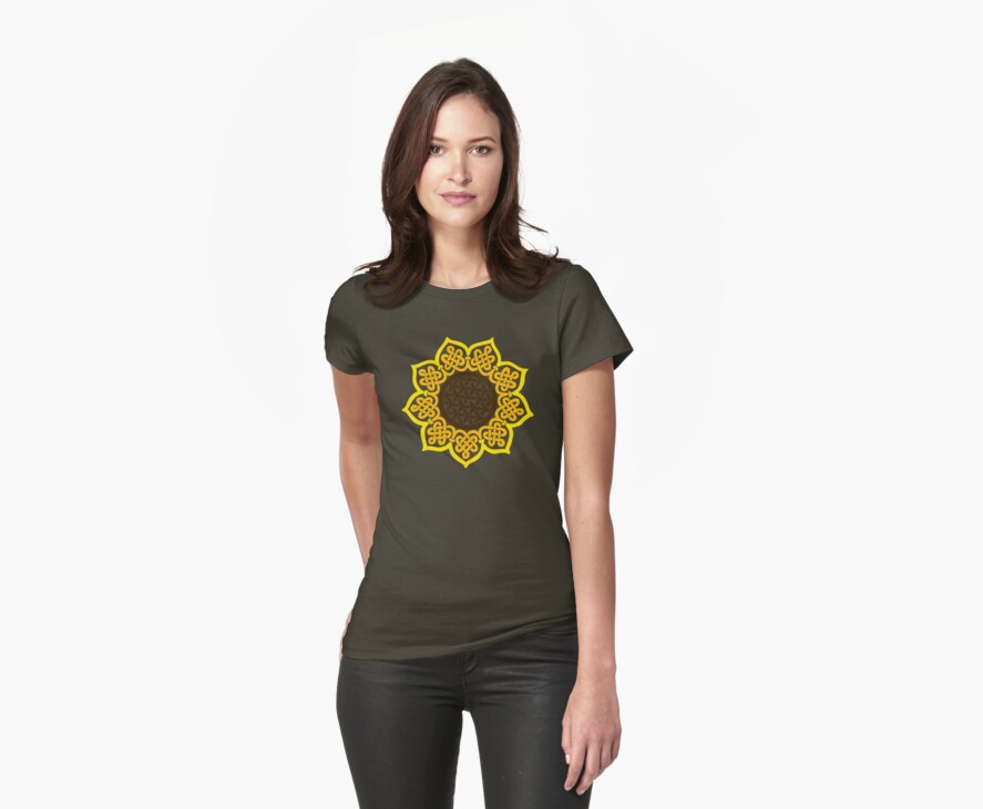 Celtic Sunflower by Ashton Bancroft