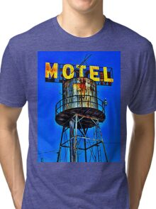 Avalon Motel Water Tank Sign T-Shirt Tri-blend T-Shirt