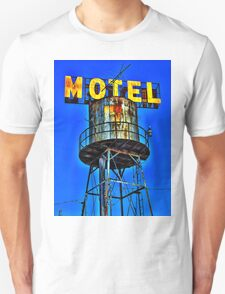 Avalon Motel Water Tank Sign T-Shirt T-Shirt