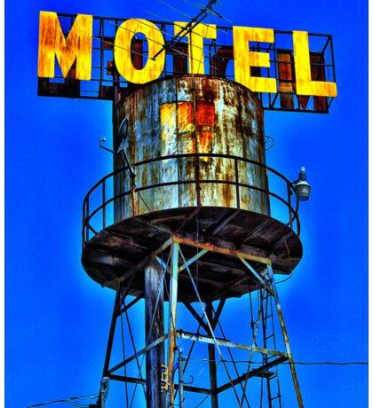 Avalon Motel Water Tank Sign T-Shirt Sticker