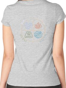 Four Elements Women's Fitted Scoop T-Shirt