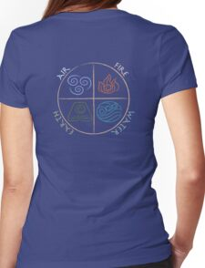 Four Elements Womens Fitted T-Shirt
