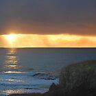 Oregon Coast Sunset by Bob Hortman