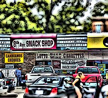 8th Avenue Snack Shop by Robert Howington