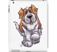 Animal Parade St. Bernard Silhouette iPad Case/Skin
