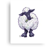 Animal Parade Sheep Canvas Print