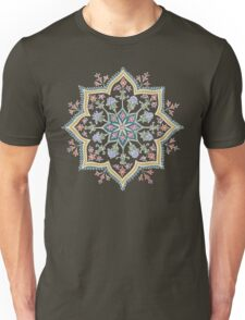 Intricate Flower Star Unisex T-Shirt