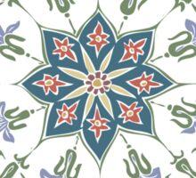 Intricate Flower Star Sticker