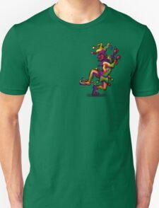 Mardi Gras Jester Pocket Tee T-Shirt