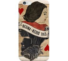 Queen of Hearts: Regina Mills iPhone Case/Skin