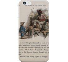 The Queen of Pirate Isle Bret Harte, Edmund Evans, Kate Greenaway 1886 0056 Gunpowder iPhone Case/Skin