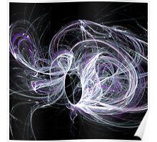 Purple Crazy String Poster
