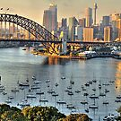 Morning Light - Sydney Harbour(50 Exposure HDR Pano) -The HDR Experience by Philip Johnson
