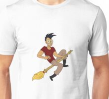 Beto on a broom Unisex T-Shirt