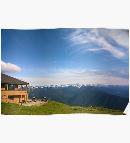 Mountain Lodge at Hurricane Ridge Poster