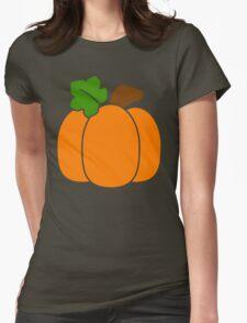 Cute Pumpkin Womens Fitted T-Shirt