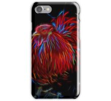 Glowing Rooster iPhone Case/Skin