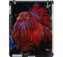 Glowing Rooster iPad Case/Skin