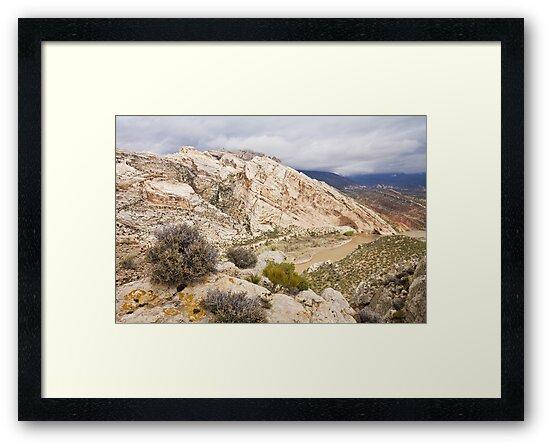 April at Split Mountain by Kim Barton