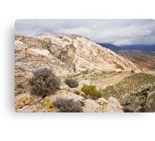 April at Split Mountain Canvas Print