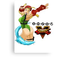 Street Fighter 5: Cammy Canvas Print