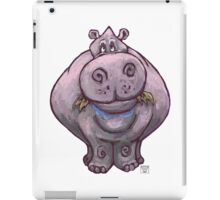 Animal Parade Hippopotamus Silhouette iPad Case/Skin