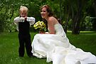 Flirting with the bride... by Marny Barnes
