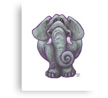 Animal Parade Elephant Canvas Print